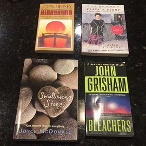 4 Books for $15 interest Levels vary Grades 6-12